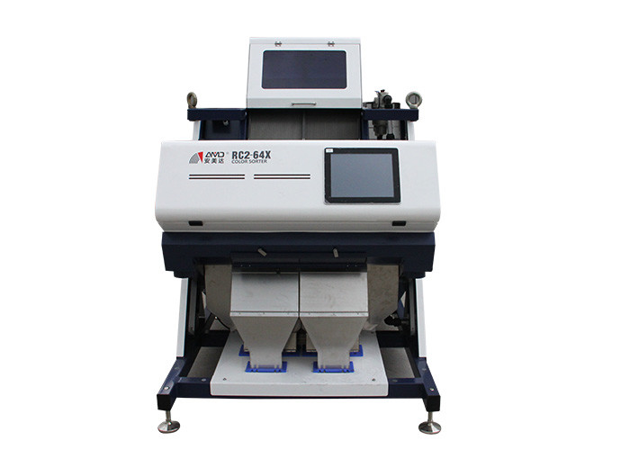 1.5-3 T/H Rice Colour Sorting Machine , Rice Color Sorter With Dust Cleaning System
