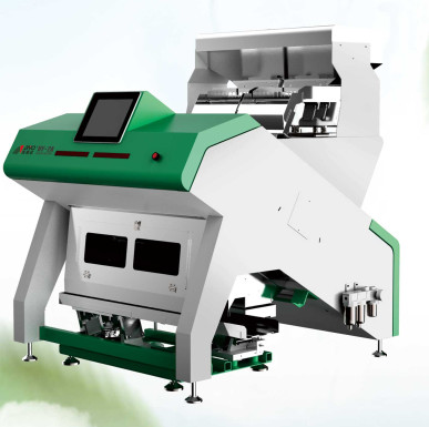 Unique Colour Automatic Sorting Machine / Ccd Tea Color Sorter 800 KG/H